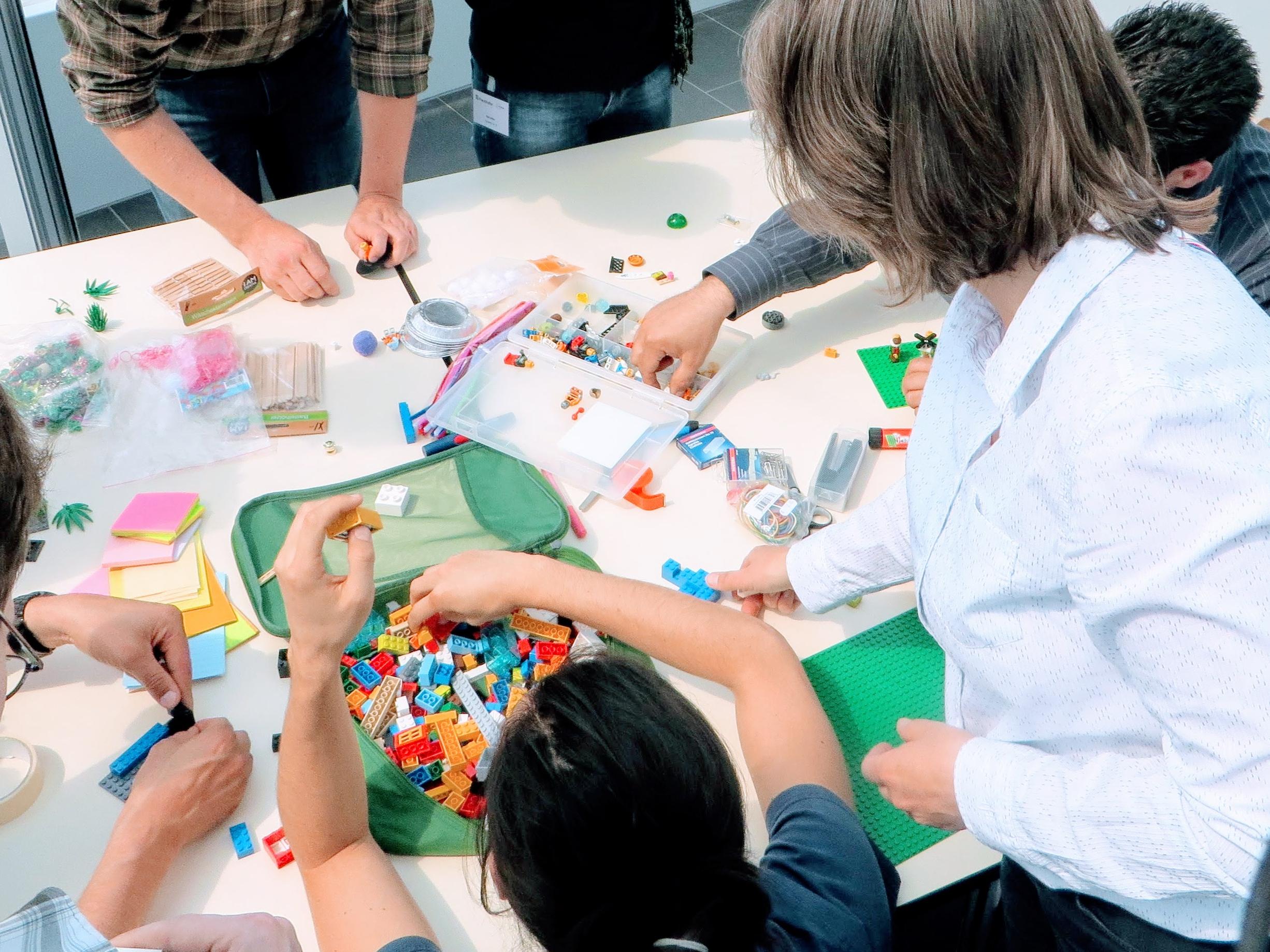 Teamentwicklung mit Lego Serious Play